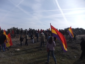 Part of the Jarama march