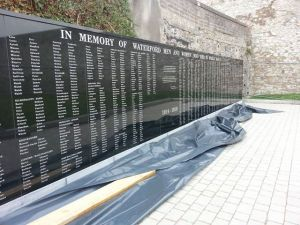 First World War Memorial, Dungarvan, Co. Waterford to be unveiled this weekend. Source: Waterford County Museum facebook page
